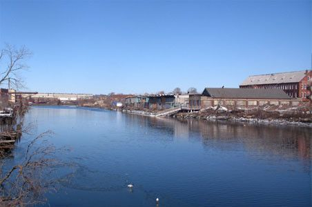 Knowlton Street and the Pequonnock River Brownfield SIte, Bridgeport CT